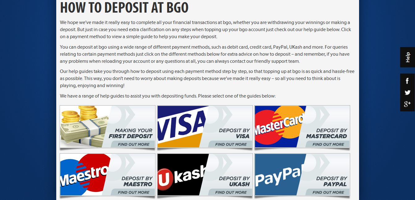 bgo vegas deposit options