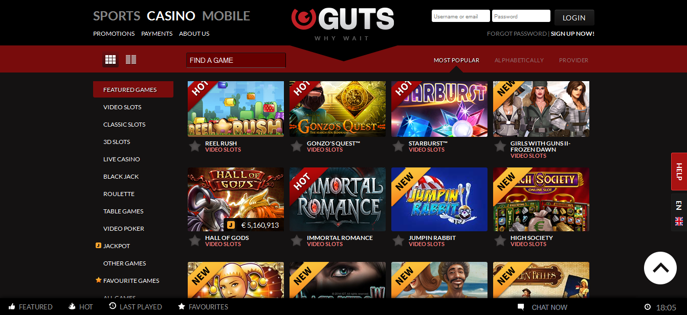 uk online casino games