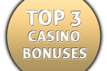 Top 3 Online Casino Welcome Bonuses