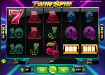 twin spin online slot review