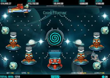 cosmic fortune bonus round