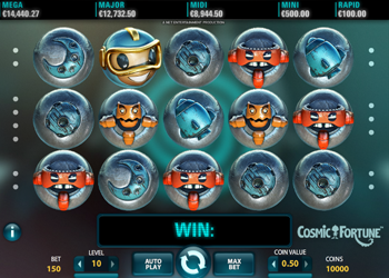cosmic fortune online slot review