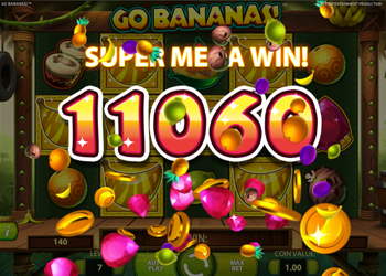 go bananas super mega win