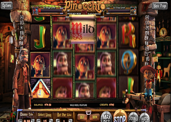 pinocchio online slot review