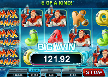 max damage online slot review