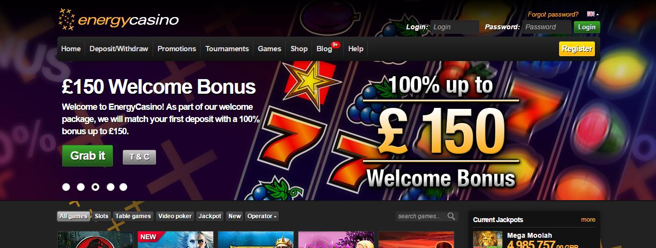 energy online casino