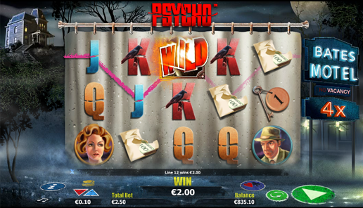 psycho online slot review
