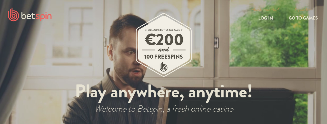 betspin welcome bonus