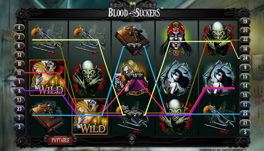 blood suckers online slot review