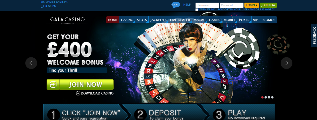 gala online casino review