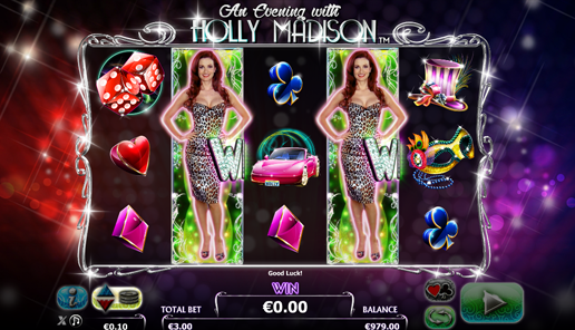 holly madison online slot review