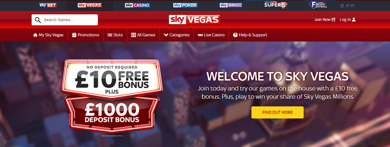 Vegas sky casino review casino gambling book